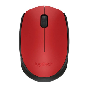 עכבר אלחוטי Logitech M171 Retail - בצבע אדום