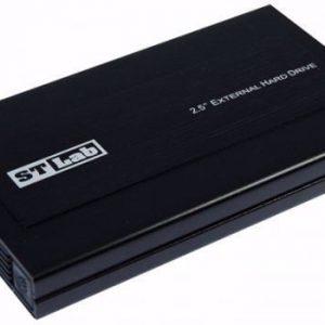 """מארז לכונן """"2.5 בחיבור STLAB S-350 SATA 6Gbps USB3.0"""