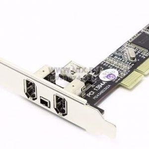 כרטיס  PCI FireWire 3+1 Port TI