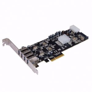כרטיס הרחבה USB3.0 PCIE4 STLAB U-1000