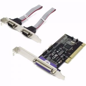 כרטיס הרחבה PCI Parallel 1P + RS232 2P