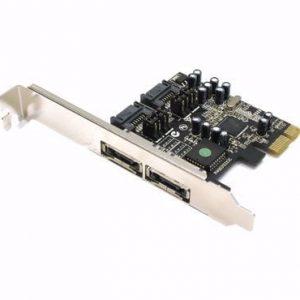 בקר STLAB - A-341 | PCIE SATA2 2 Port