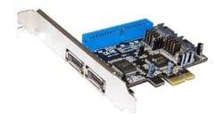 בקר STLAB - A-350 | PCIE SATA2 PATA IDE