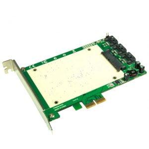 """מתאם בין דיסק SSD בגודל """"2.5 לחיבור PCIE"""