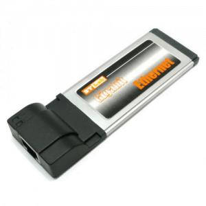 כרטיס רשת למחשב נייד ExpressCard 10/100/1000
