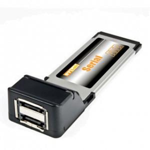 כרטיס הרחבה לנייד ST-Lab C-240   ExpressCard eSATA 2P