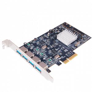 כרטיס הרחבה ST-Lab U-1900 | PCIEX4 USB3.1 10Gbps