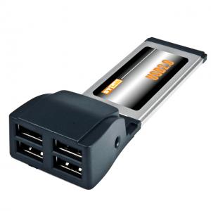 כרטיס הרחבה לנייד ST-Lab C-310 | ExpressCard USB2.0 4P