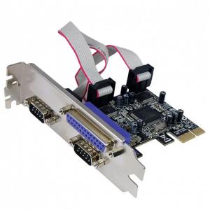 כרטיס הרחבה STLAB I-294 | PCIE Parallel RS232