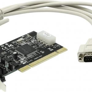 כרטיס הרחבה PCI הכולל 2 יציאות סיריאליות | STLAB CP-110