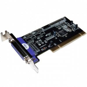 כרטיס הרחבה STLAB I-400 | PCI Parallel Low Profile 1P