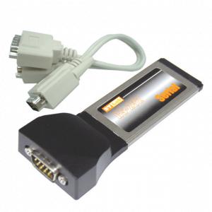 כרטיס הרחבה לנייד STLab C-261 | ExpressCard RS232 1P