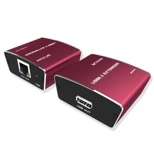 מרחיק USB2.0 על גבי כבל רשת CAT5E עד 100 מטר