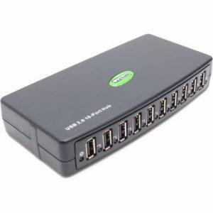 רכזת הכוללת 10 כניסות STLAB U-500 | USB2.0
