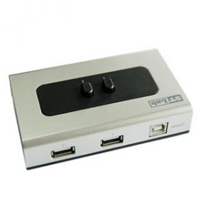 ממתג 2 כניסות USB ידני | STLAB G-100