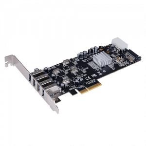 כרטיס הרחבה STLAB - U-1010   USB3.0 PCIEX4 20Gbps