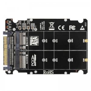 """מתאם """"M.2  NVME PCIE TO SATA 2.5"""