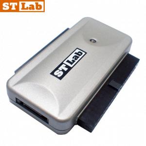מתאם STLAB U-390 מחיבור USB2.0 לחיבור SATA 1.5G מוגבר