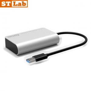 מתאם STLAB U-1050 מוגבר בחיבור USB3.1 לחיבור SATA3 במהירות 10Gbps