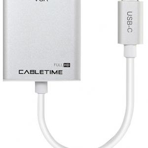מתאם בחיבור USB Type C לחיבור VGA