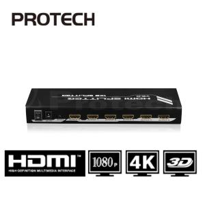 מפצל HDMI Spliter 1X8 לשמונה מסכים בו זמנית תומך 3D + 4KX2K