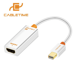 Mini Displayport Male To HDMI Female Adapter Support 4K & Mac Cabletime