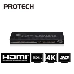 מטריצה HDMI עם 4 כניסות ו-4 יציאות תומך 4KX2K כולל שלט רחוק