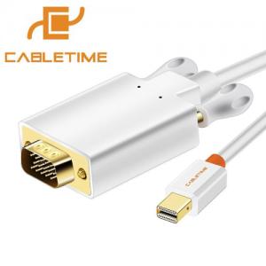 כבל מחיבור Mini DisplayPort לחיבור VGA נקבה באורך 1.8 מטר
