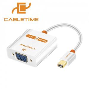 מתאם מחיבור Mini DisplayPort לחיבור VGA נקבה CableTime
