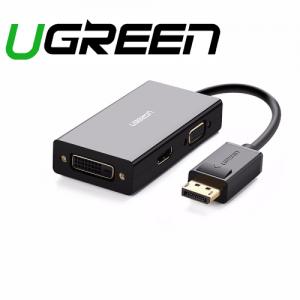 מתאם מחיבור DisplayPort לחיבורים VGA/HDMI/DVI תומך 4K