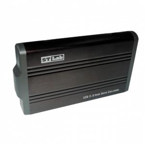 """מארז חיצוני לדיסק """"3.5 SATA בחיבור STLAB S-340 USB3.0"""