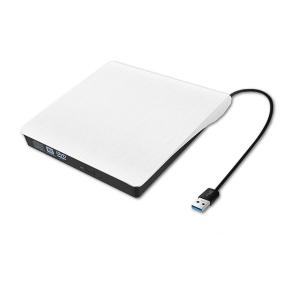 צורב DVD חיצוני דק במיוחד בחיבור USB