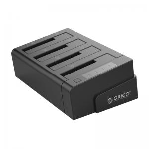 תחנת עגינה שכפול דיסקים עבור 4 כוננים קשיחים בחיבור USB3.0 תוצרת ORICO