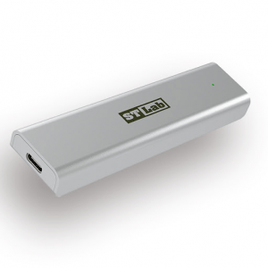 מארז חיצוני עבור כונני NVME SSD M.2 תומך STLAB S-380 10Gbps