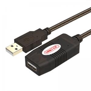 כבל מאריך אקטיבי USB2.0 A-F באורך כ- 10 מטר UNITEK