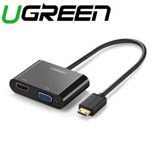 מתאם מחיבור MINI HDMI לחיבורים VGA